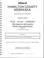Title Page, Hamilton County 1985
